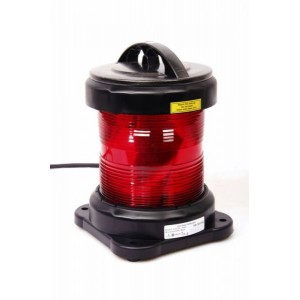 Navigation light single - Not Under Command Red + certificate without lamp